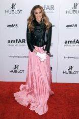 Sarah Jessica Parker, 2012 amfAR New York Gala at Cipriani Wall Street - Red Carpet Arrivals. New York Ciy, USA - 08.02.12 Mandatory Credit: Ivan Nikolov/WENN.com