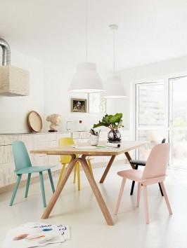 Muuto-scandinavian-design-dining-area